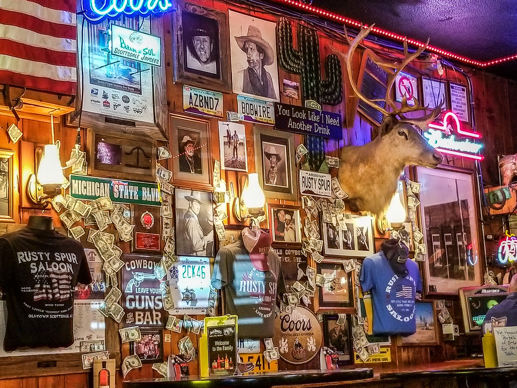 Rusty Spur Saloon Scottsdale Arizona