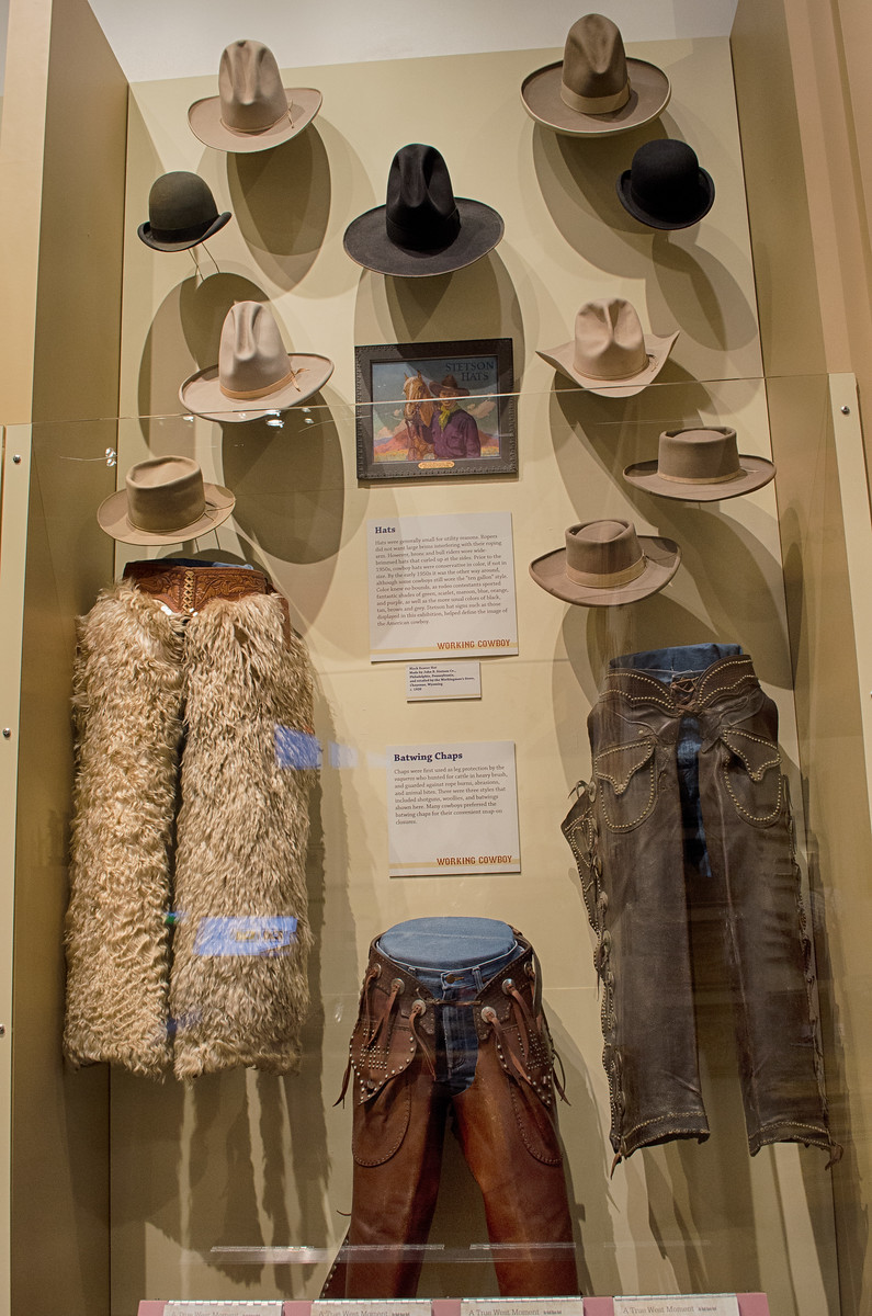 Stetson Hats, Wooly Chaps, Old West, Scottsdale Arizona, Museum of the West
