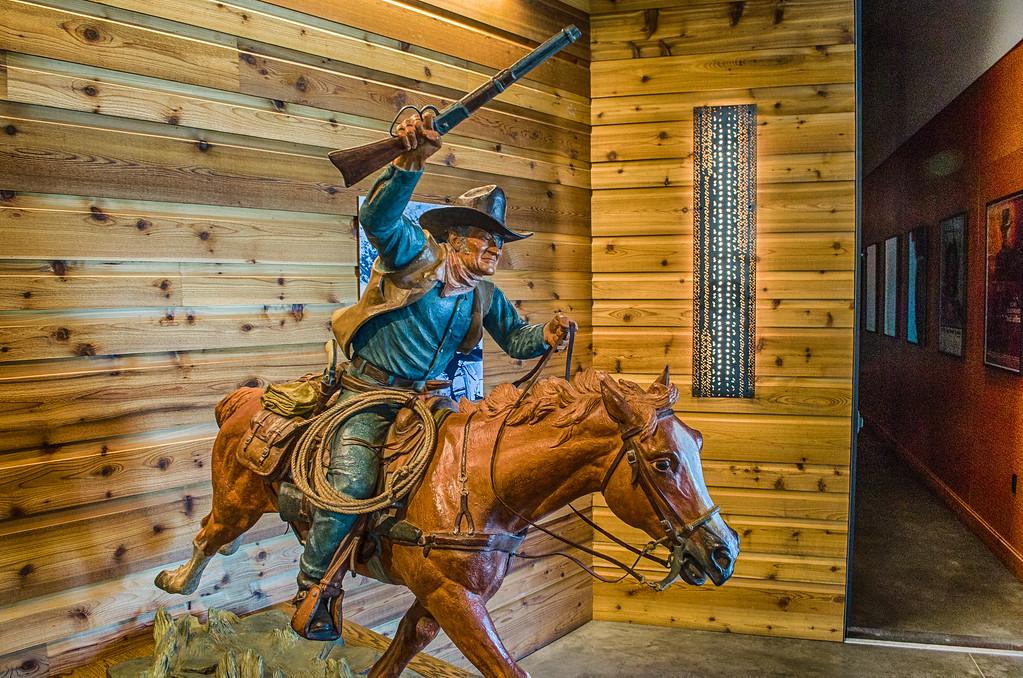 John Wayne Bronze, Old West, Museum of the west, Scottsdale Arizona