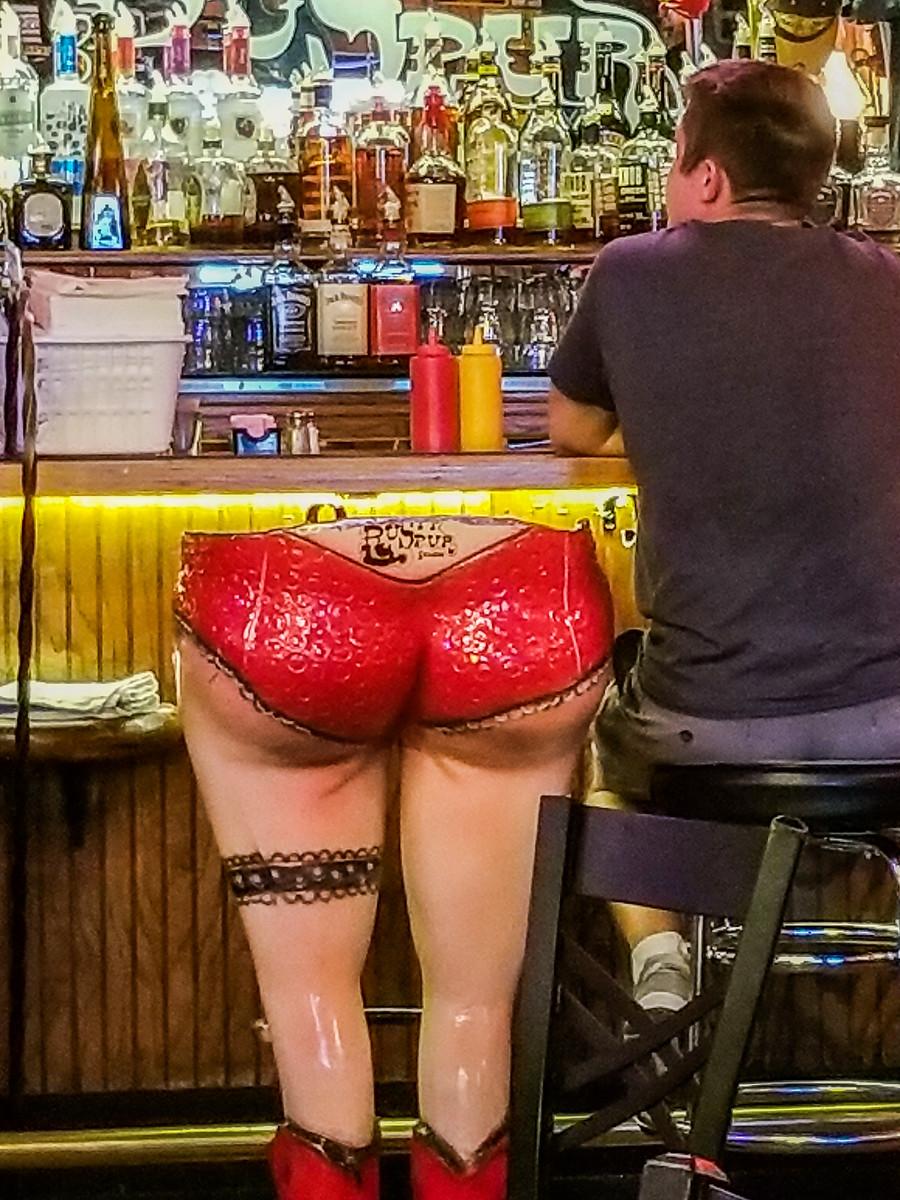 Rusty Spur Saloon Scottsdale Arizona Big Butt Barstool