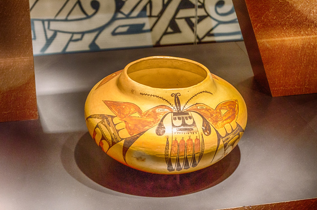 Hopi Pottery, Hopi Indian, Museum of the west, old west, Scottsdale Arizona
