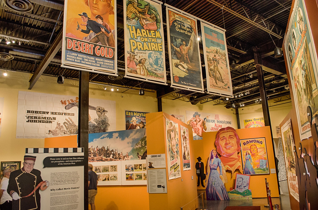 movie posters, old west, museum of the west, Scottsdale Arizona