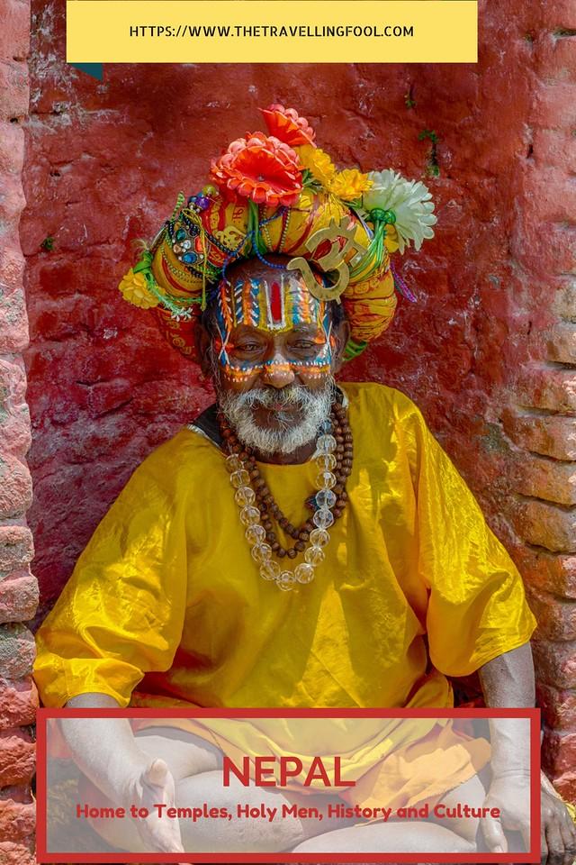 Nepal Holy Man