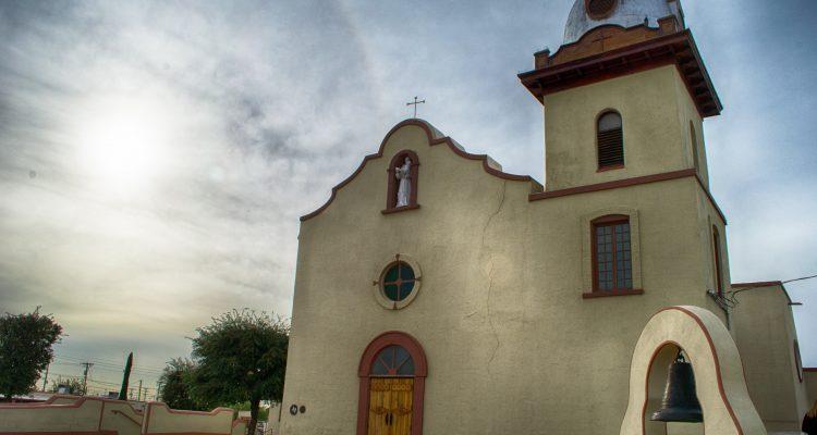 Ysleta Mission exterior El Paso Texas