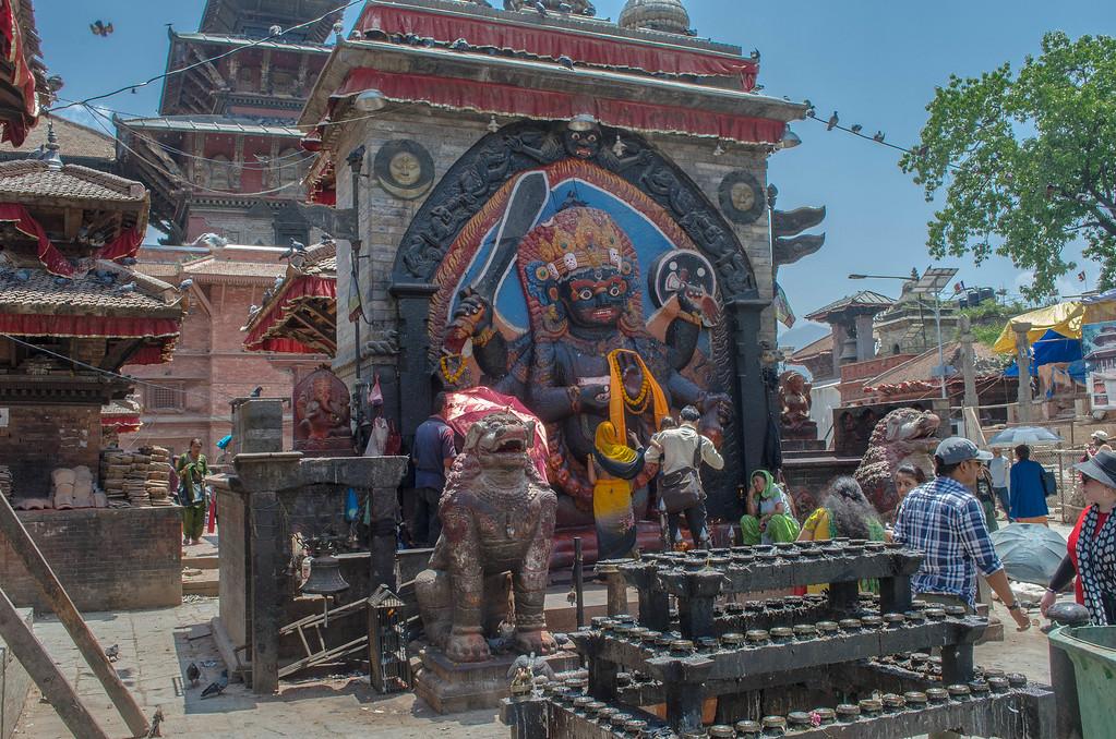 Shrine in Kathmandu