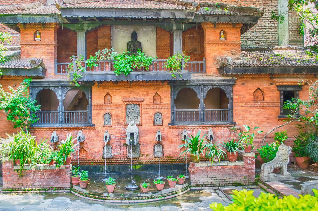 Gardens, Kantipur Temple House Hotel, Kathmandu Nepal