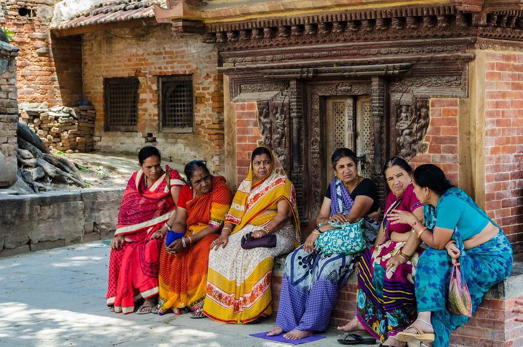 Ladies of Kathmandu