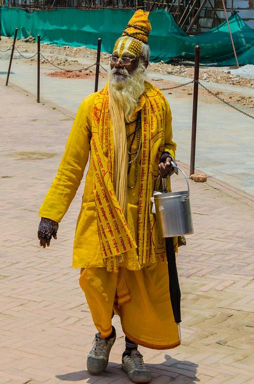 Kathmandu Holy Man