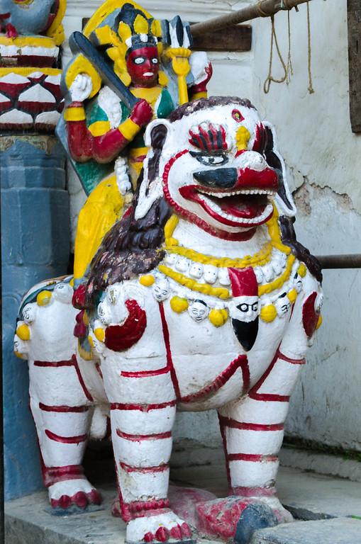 Royal Palace Statue, Kathmandu Nepal