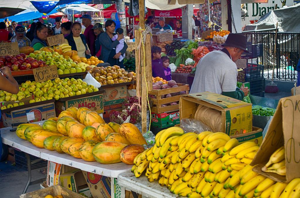 city market Juarez Mexico