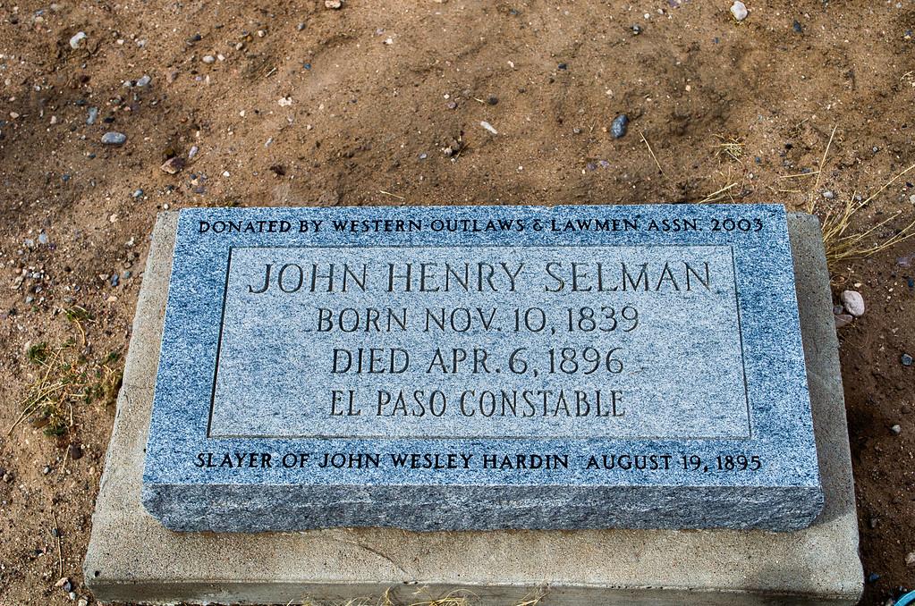John Selman Grave El Paso Texas