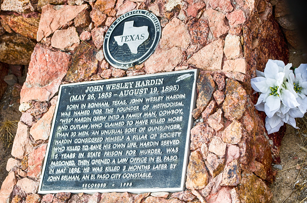 John Wesley Hardin Historical Marker