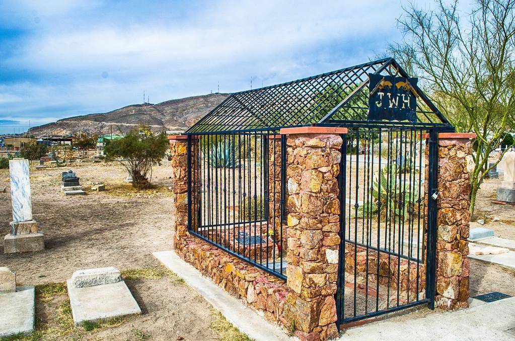 John Wesley Hardin Grave Concordia Cemetery El Paso Texas