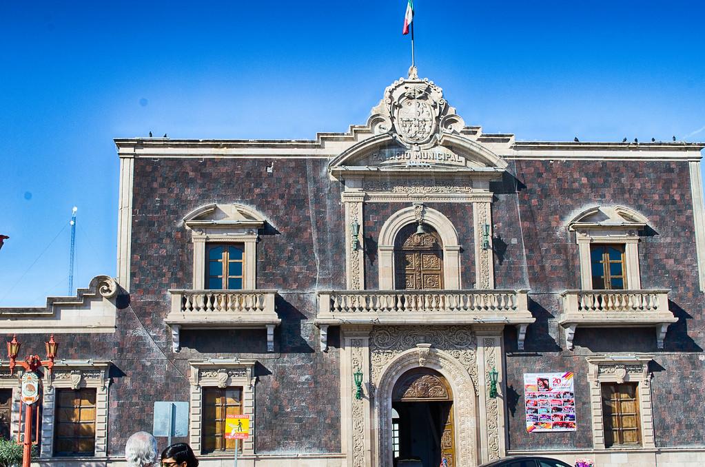 Antigua Presidencia Municipal Juarez Mexico