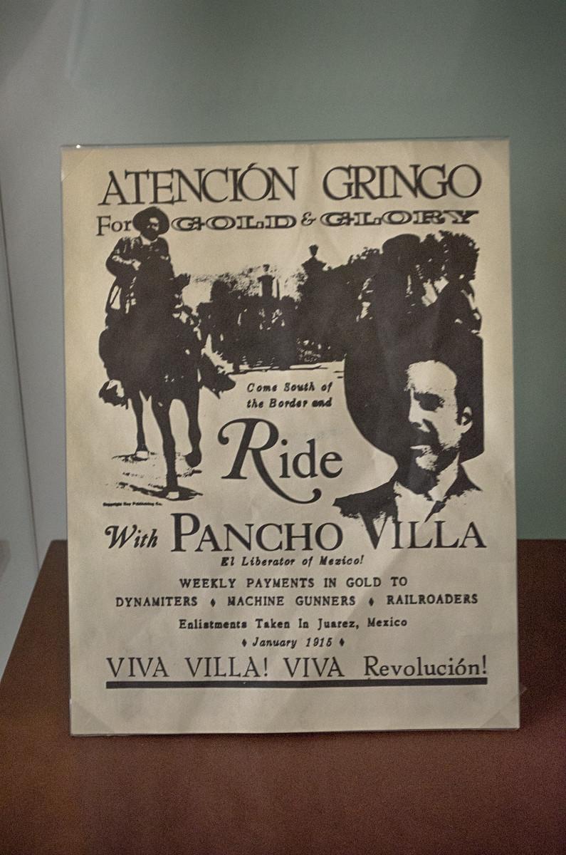 Pancho Villa Recruiting poster