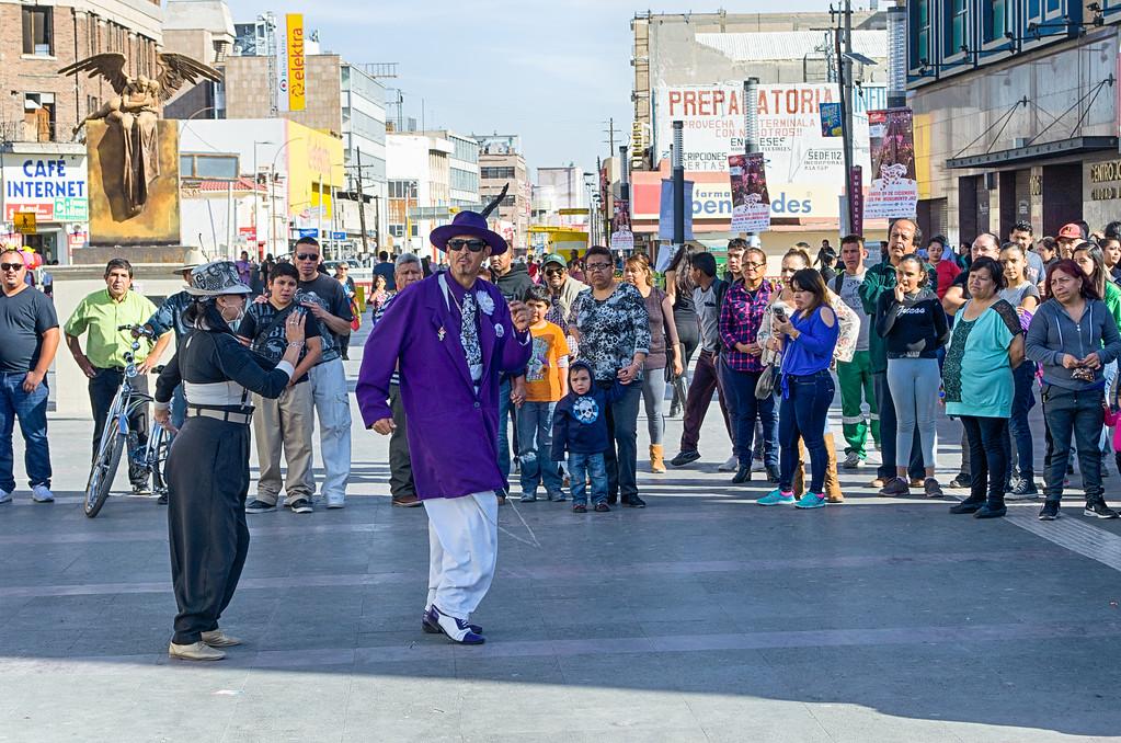 Zoot Suit Dancers in Juarez Mexico