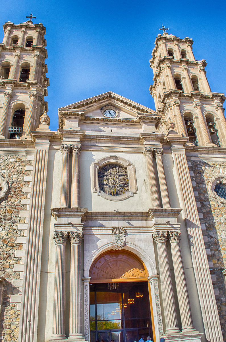Our Lady of Guadalupe Cathedral Juarez Mexico