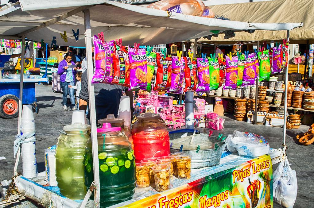 Aguas Frescas Juarez Mexico