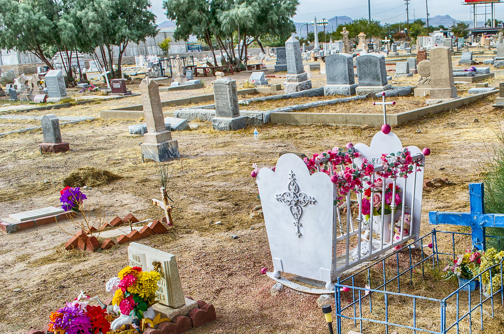 Childrens Graves Concordia Cemetery El Paso Texas