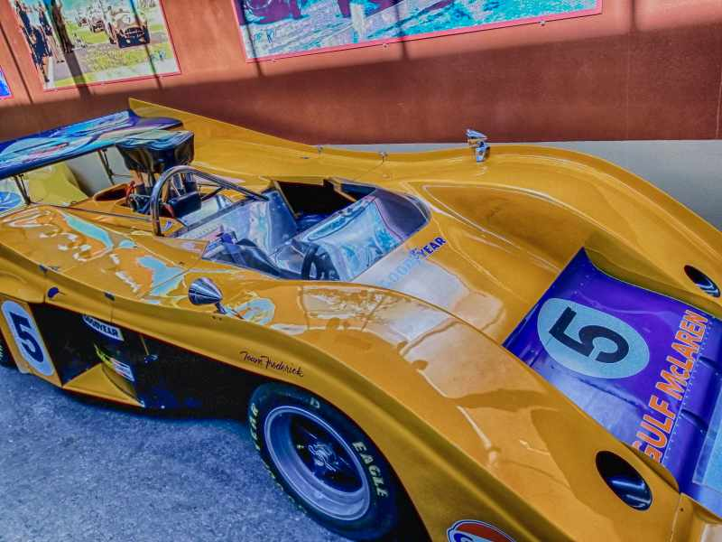 McLaren Race Car