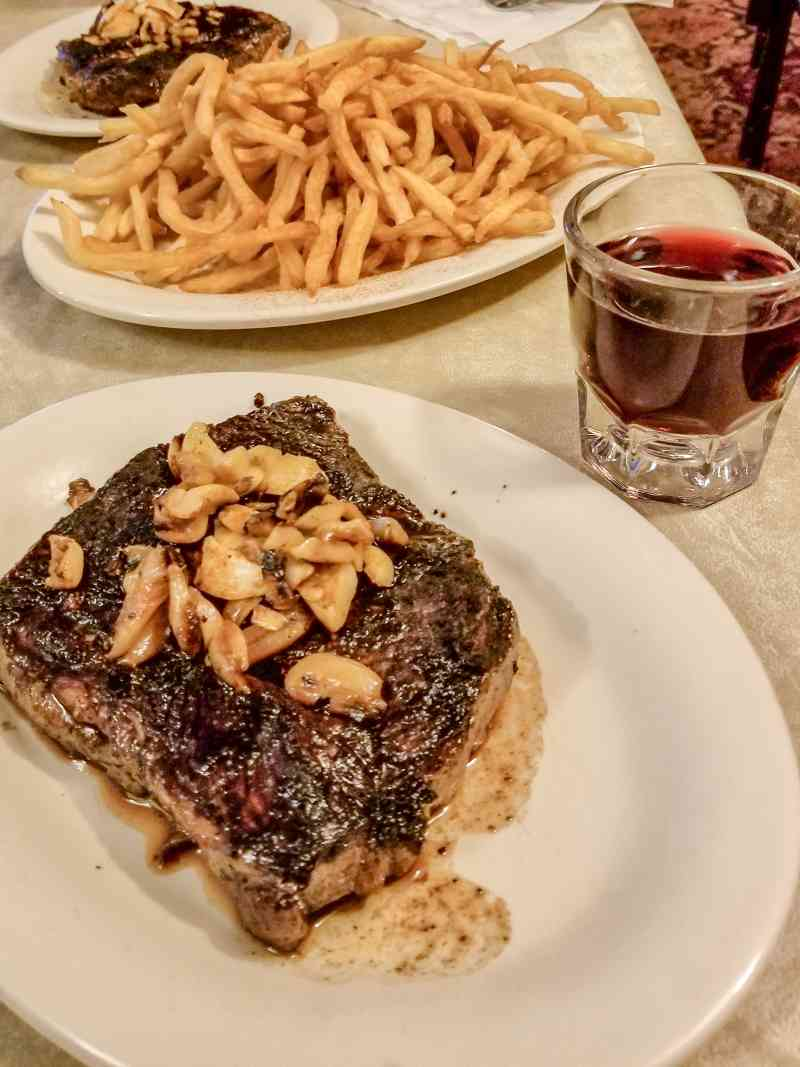 J.T. Basque Restaurant Steak