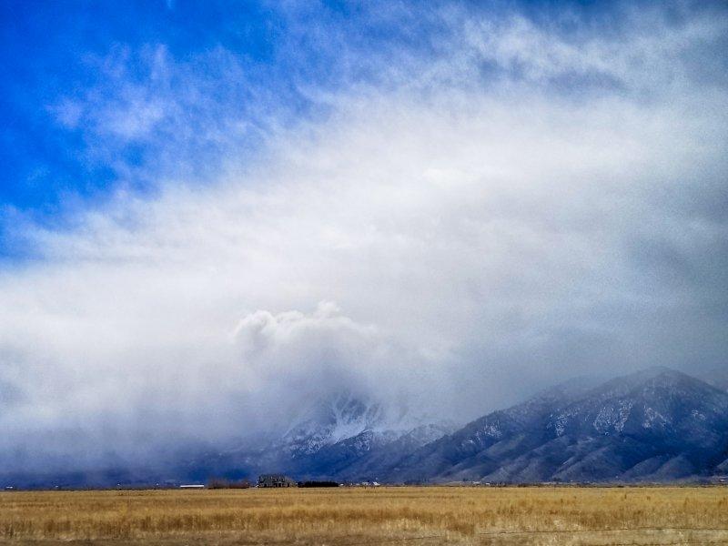 Gardnerville Nevada Landscape