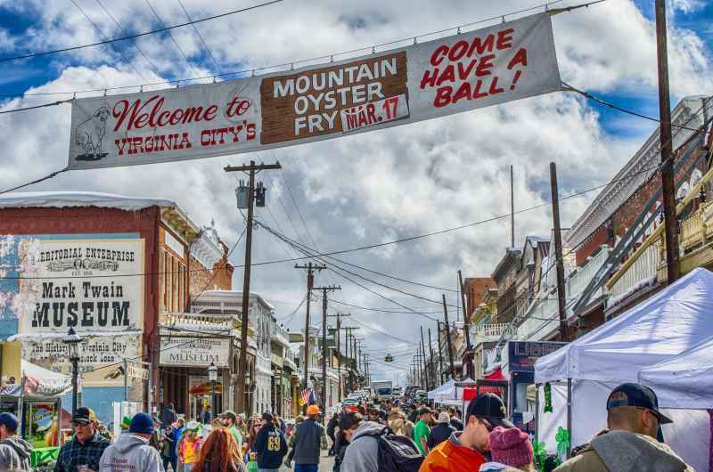 Virginia City Rocky Mountain Oyster Fry