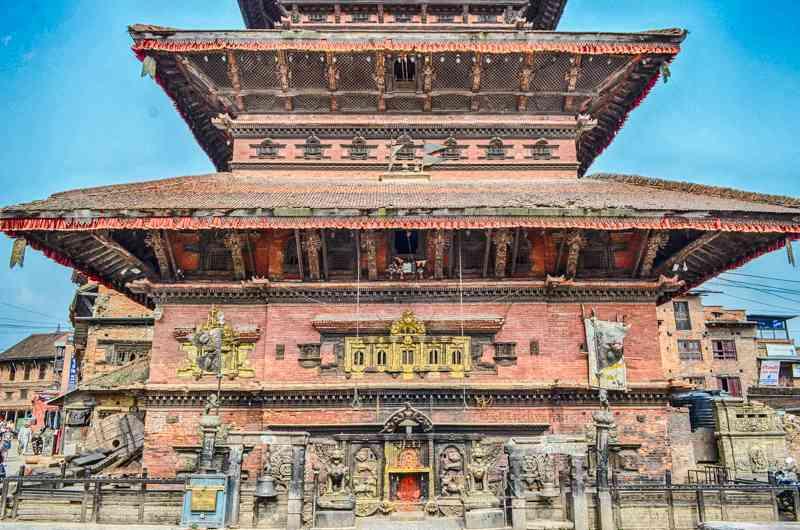 Bhairavnath Temple Bhaktapr Nepal