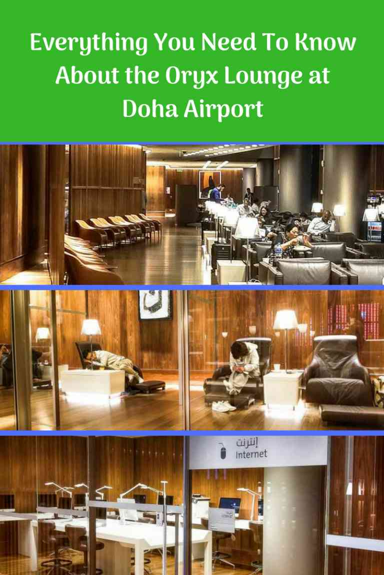 Oryx Lounge at Doha Airport