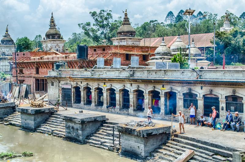 Pashupati Cremation Kathmandu Nepal