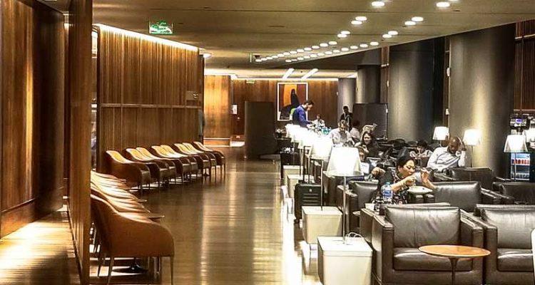 Oryx Lounge at Doha Airport