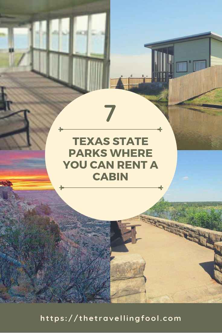 Here are 7 Texas State Parks where you can rent a cabin and spend the night without roughing it.