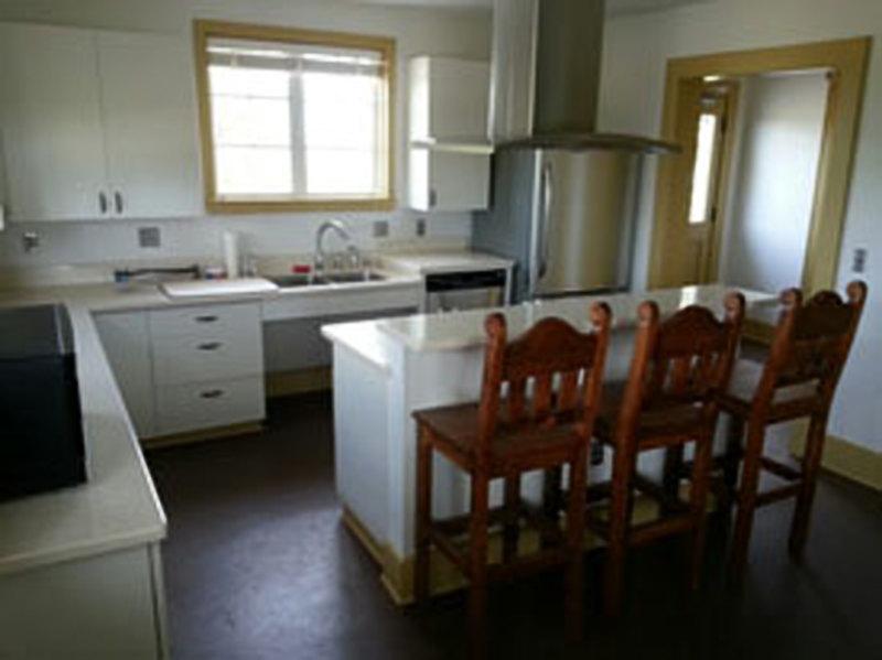 Galveston State park Cabin Kitchen
