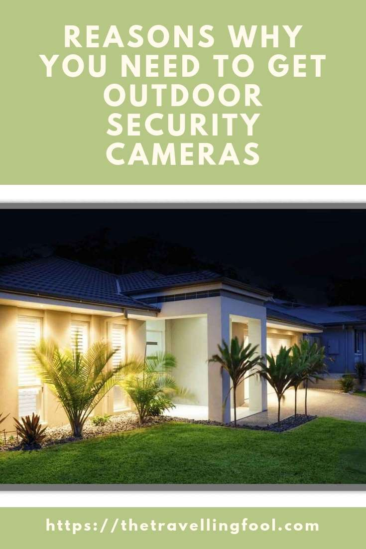 Whether you are traveling or just want some peace of mind, you need to get outdoor security cameras to protect your home.  With great clarity and the ability to zoom in and monitor activities even when you are not home, a good security camera system can help protect and deter and problems. #Ad #Security #Travel