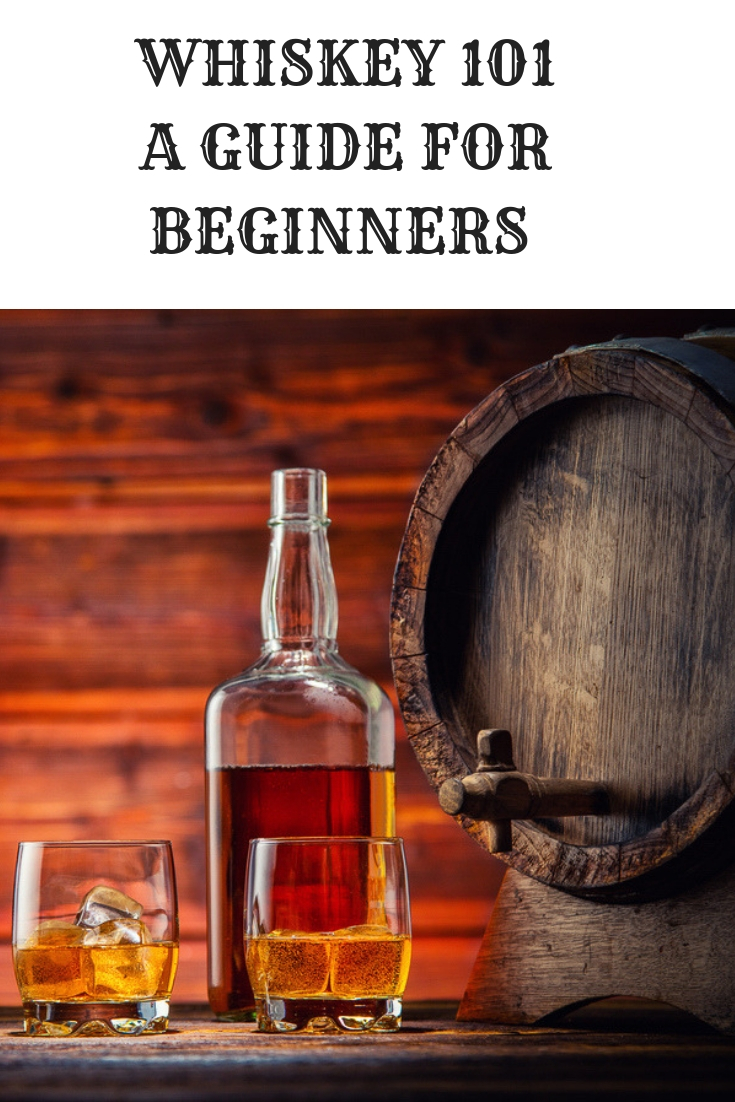 #Whiskey 101 a guide for beginners. Whether you are new to whiskey or just want to up your whiskey lingo this handy guide will give you the basics. #bourbon #Scotch #SingleMalt