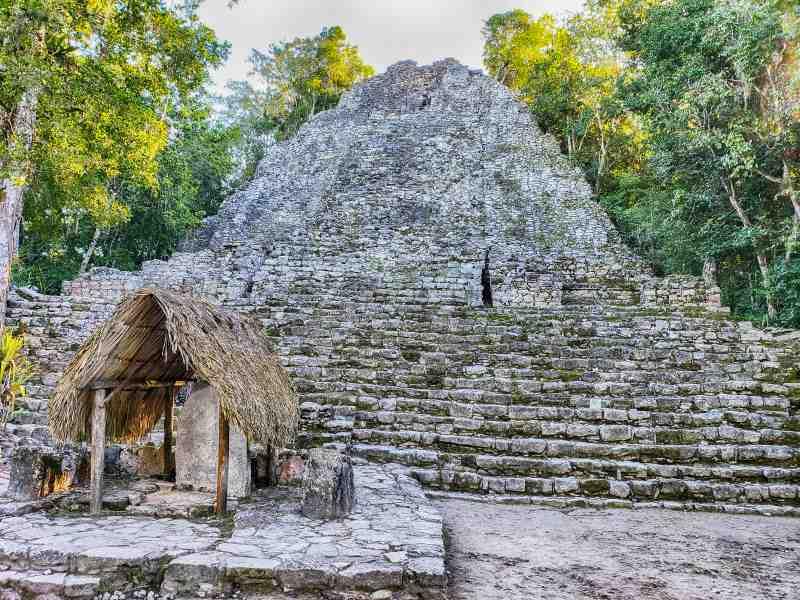 La Iglesia Coba Mayan Ruins Mexico