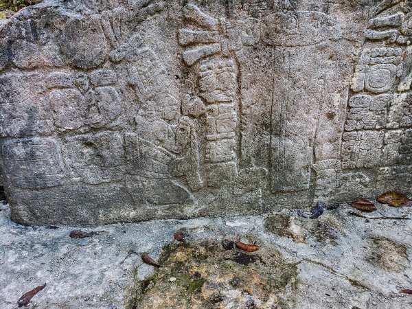 Mayan Stelae, Coba Mexico