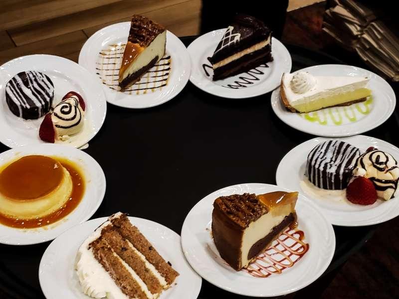 Dessert at Boi Na Braza Steakhouse
