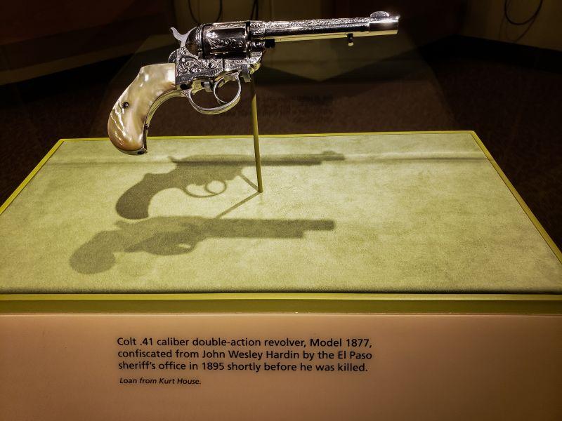 John Wesley Hardin Pistol