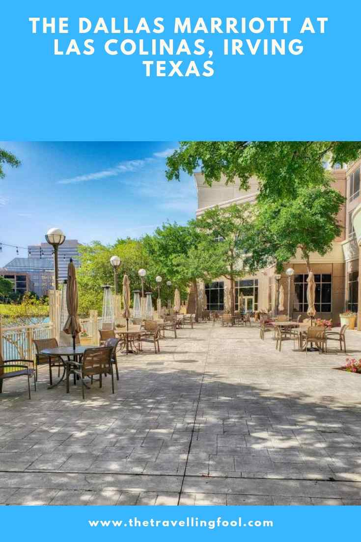 The Dallas Marriott At Las Colinas A Perfect Location