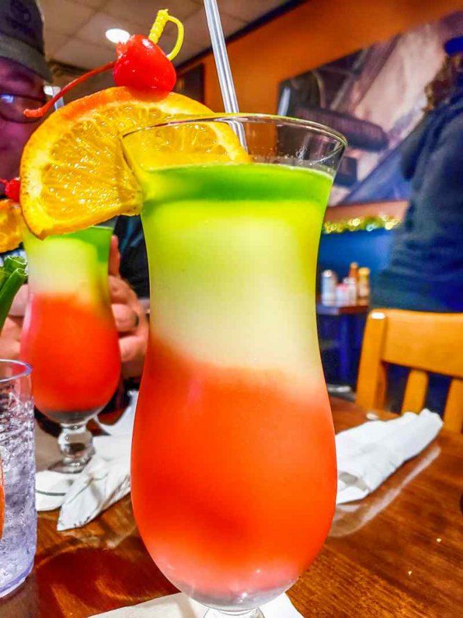 Drinks at Po Melvins Restaurant