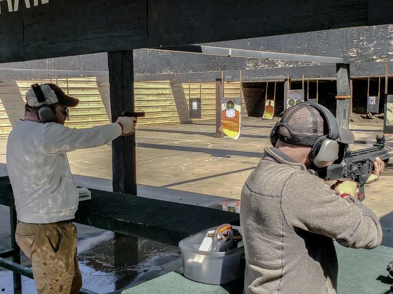 Elm Fork Shooting Range, Irving Texas
