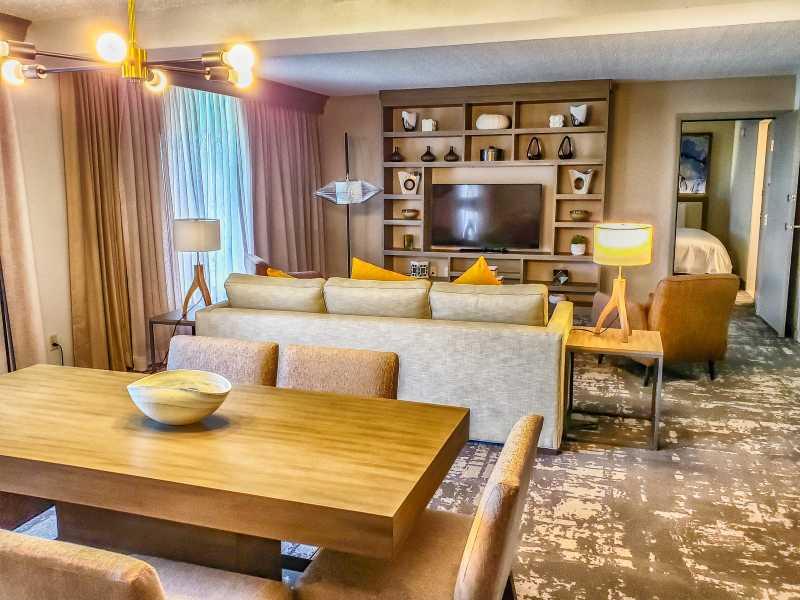 Suite at Dallas Marriott Las Colinas