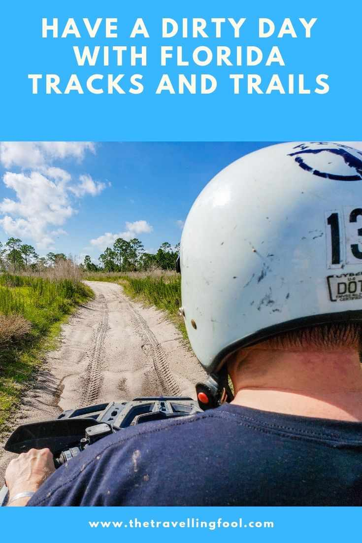 After spending a few hours riding the trails I can see why Florida Tracks and Trails is so popular, this place is huge. With great tracks for motocross and trails for ATV's and UTV's along with a beach and paintball activities it makes for a great day. #sponsored