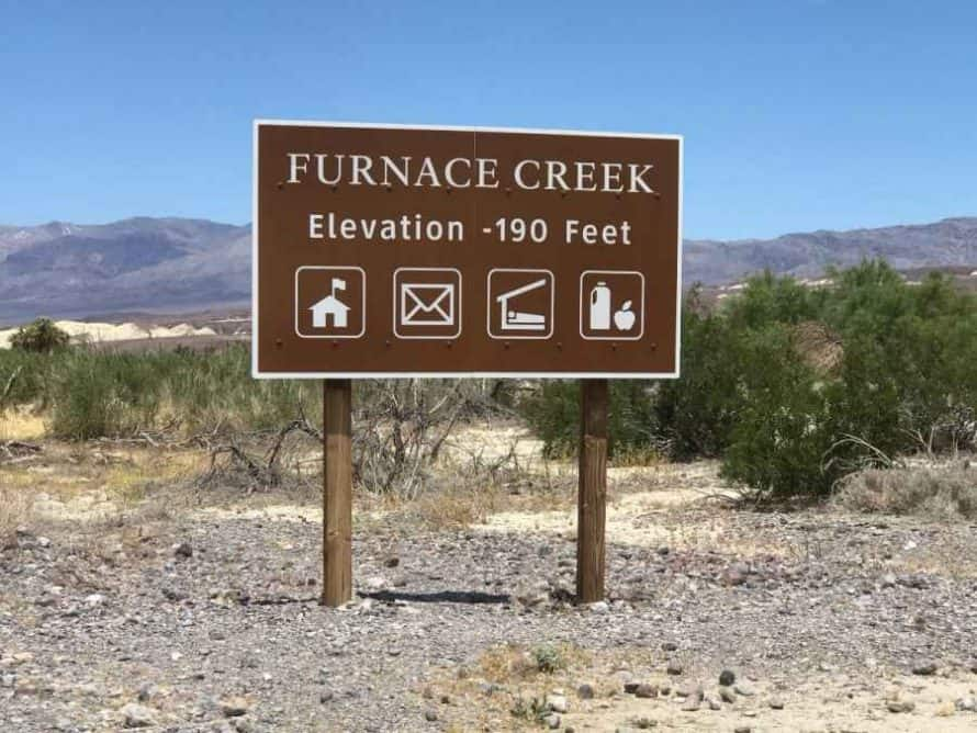 Furnace Creek Death Valley