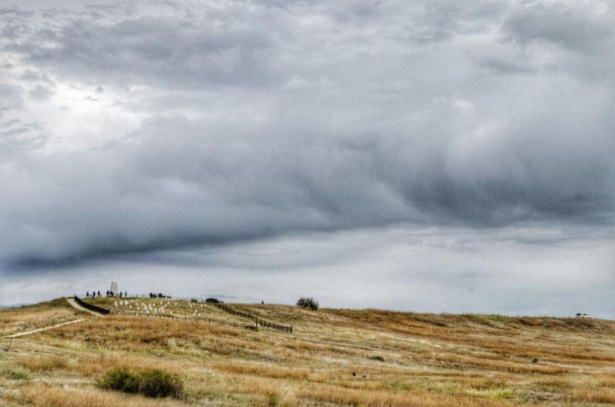 Last stand Hill Little Bighorn Montana