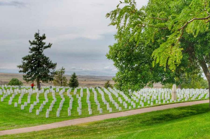 Custer National Cemetery Little Bighorn Montana