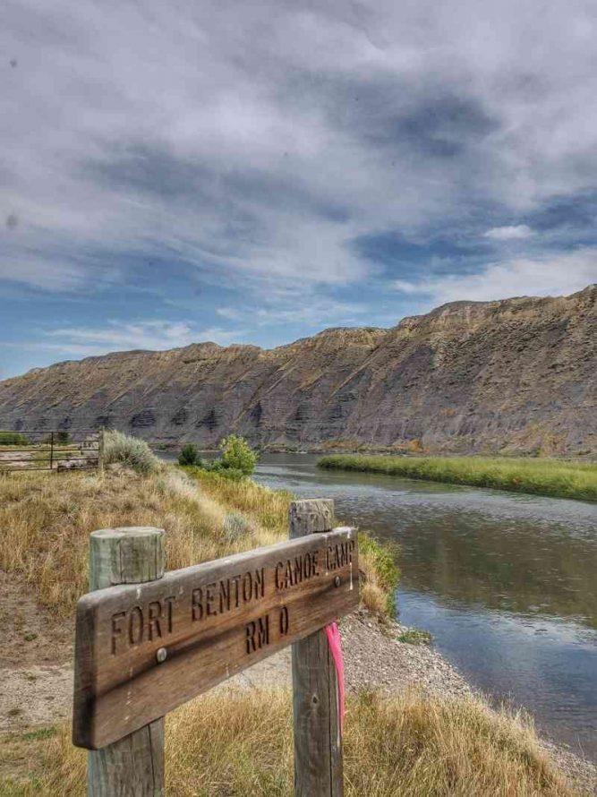 Ft Benton Montana Canoe Ramp