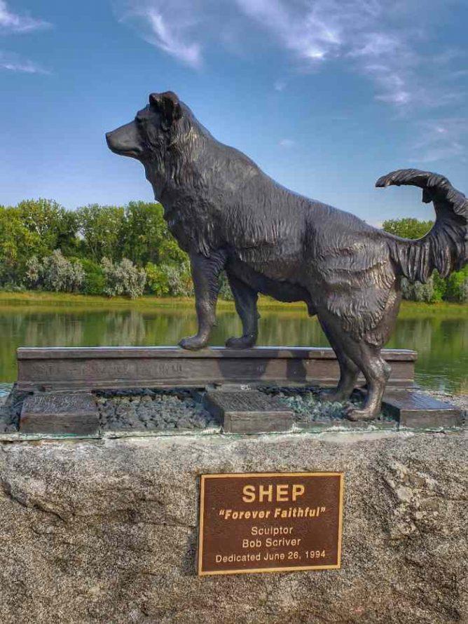 Shep Monument Fort Benton Montana