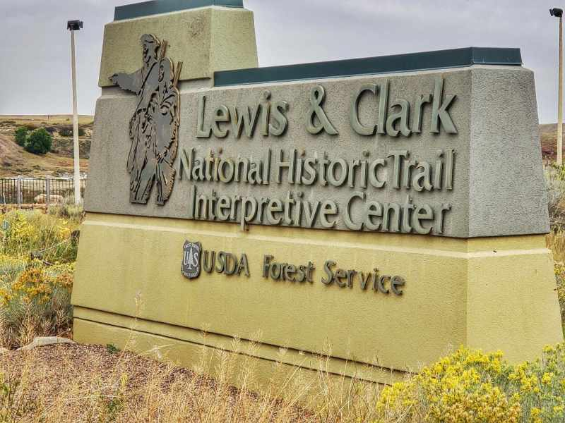 Lewis and Clark Interpretive Center Great Falls Montana